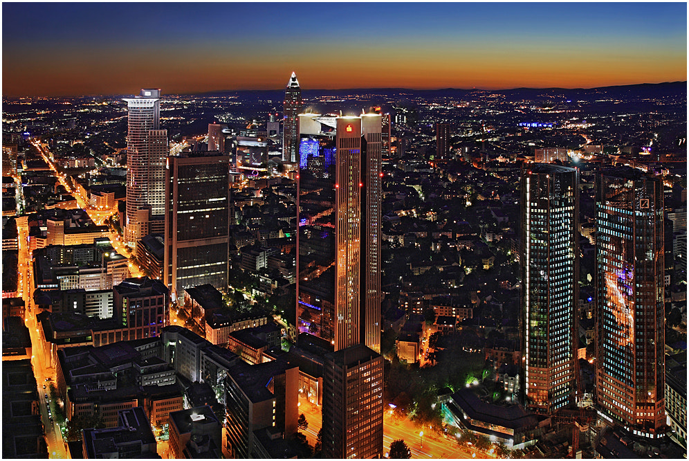 Photograph Frankfurt City by Uwe Müller on 500px