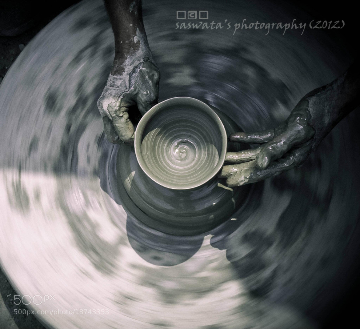 Photograph making of an earthen pot by Saswata Roy on 500px