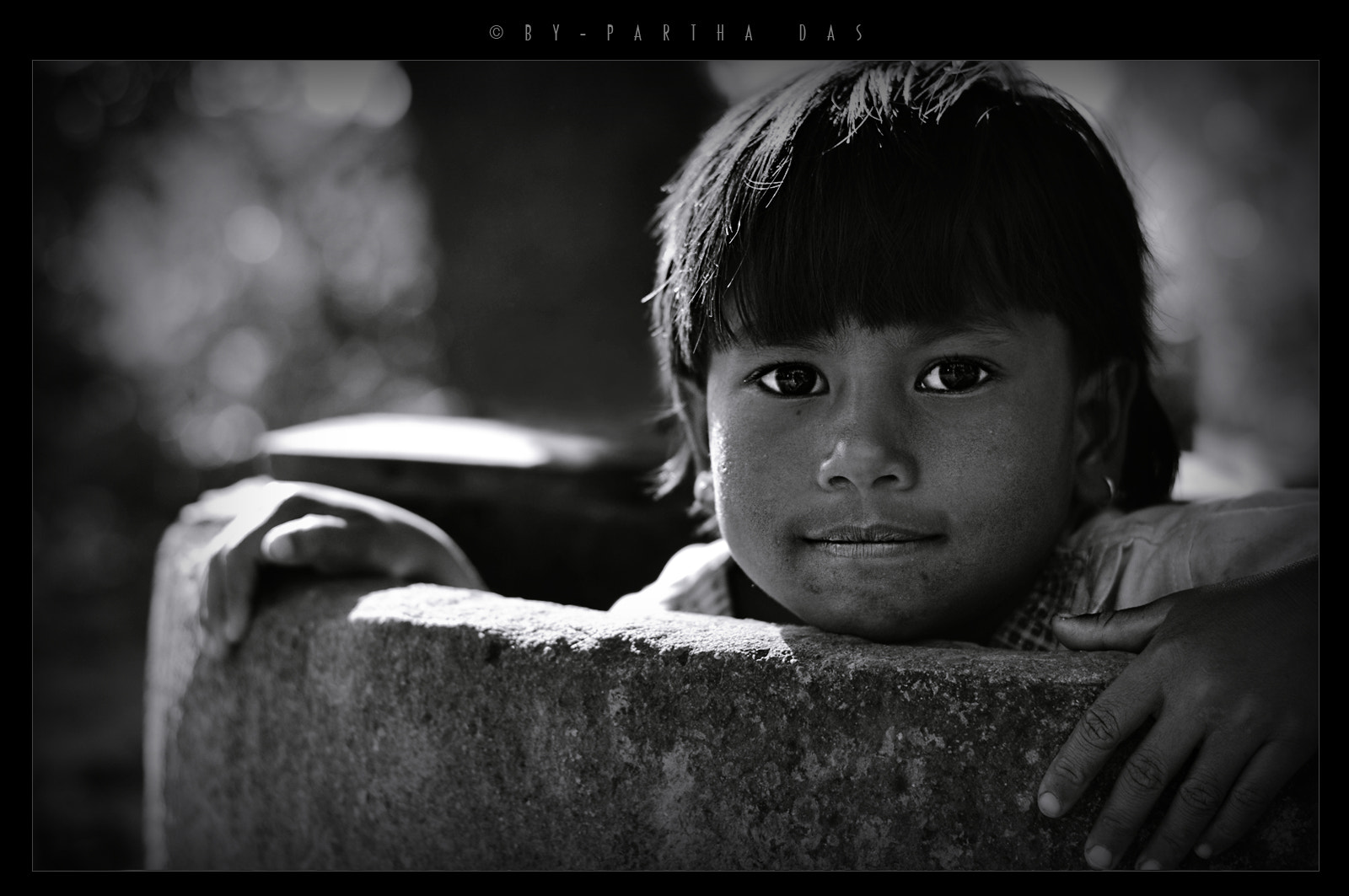 Photograph little girl by Partha Das on 500px