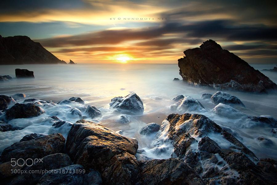 Photograph Sunset Cream by Nuno Mota on 500px