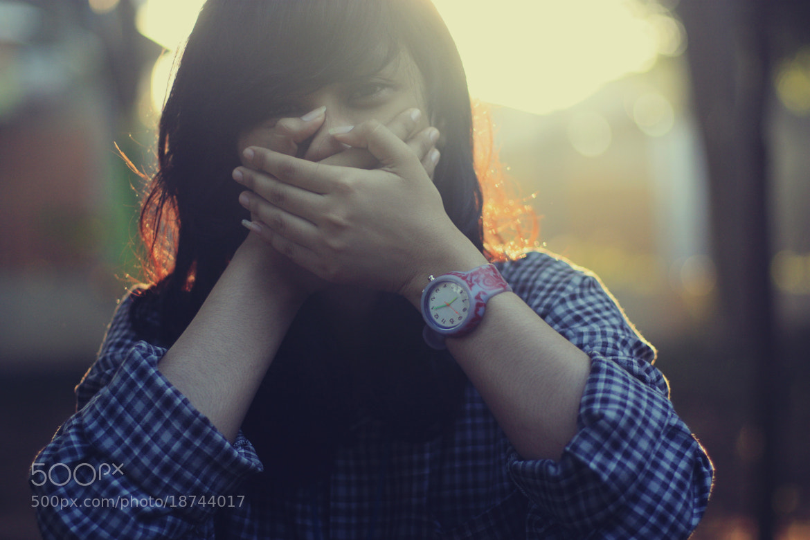 Photograph laugh by Elfa Santoso on 500px