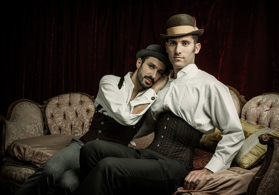 The men on the couch by Joel Aron on 500px.com