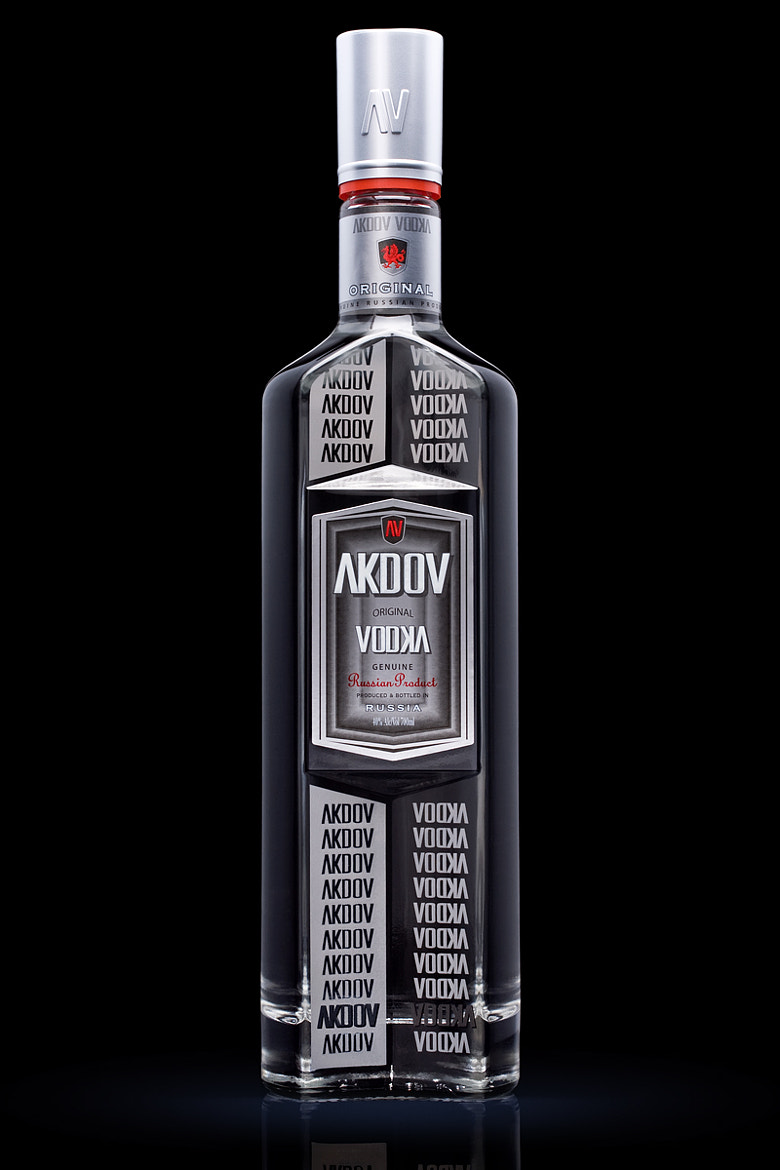 "Photograph Vodka ""AKDOV"" by Pavel Bugrov on 500px"