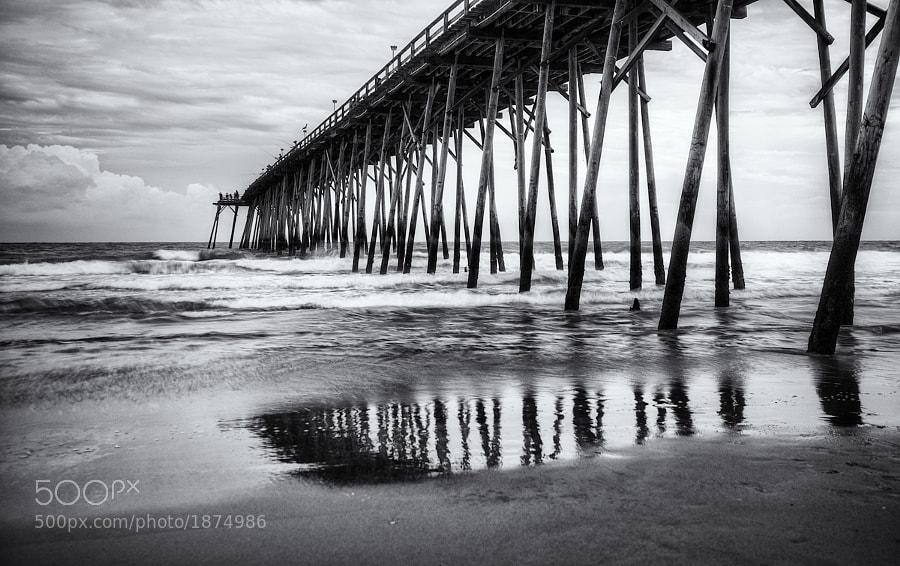 The pier at Kure Beach, North Carolina
