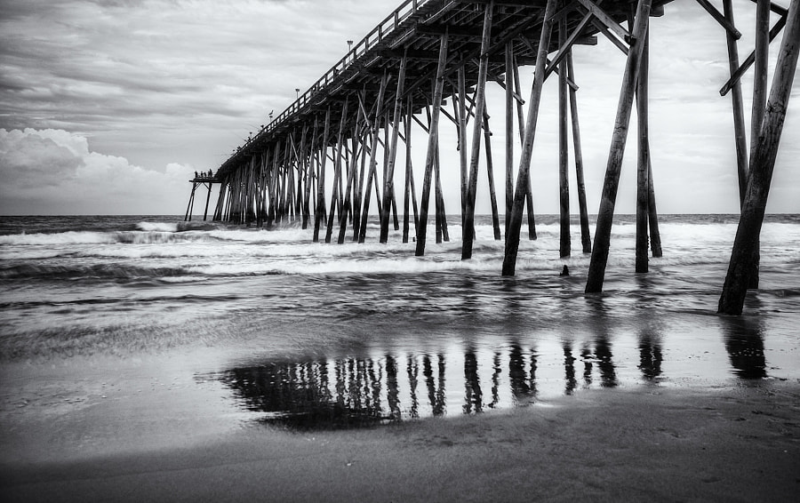 The pier at Kure Beach, North Carolina