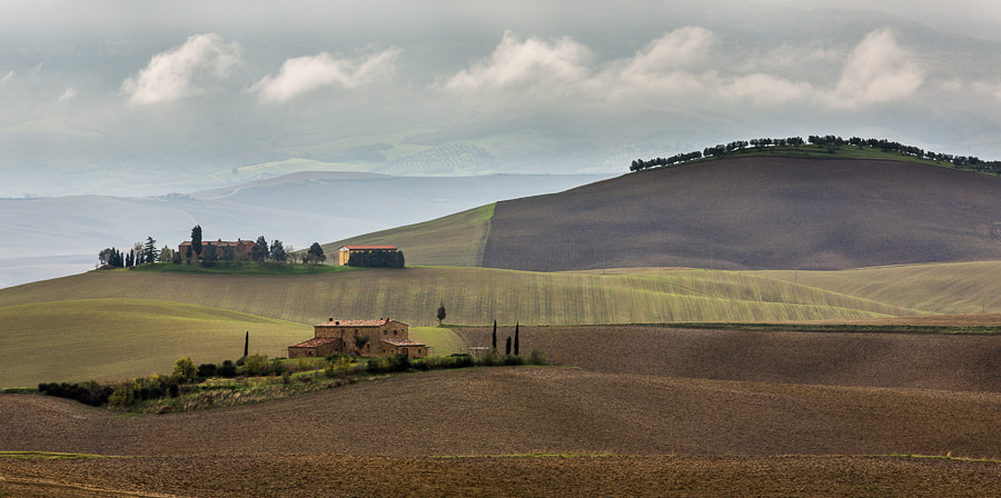 Photograph Tuscan Farmland by Hans Kruse on 500px