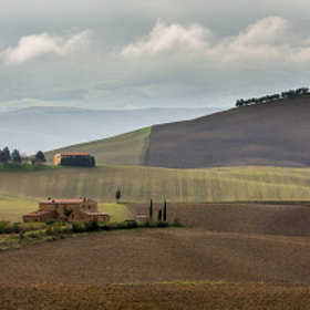 Tuscan Farmland by Hans Kruse (hanskrusephotography)) on 500px.com