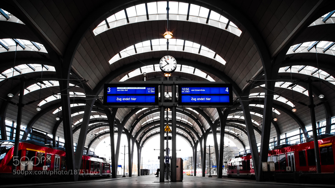 Photograph TERMINAL station by Kai Nicolas  Schaper on 500px