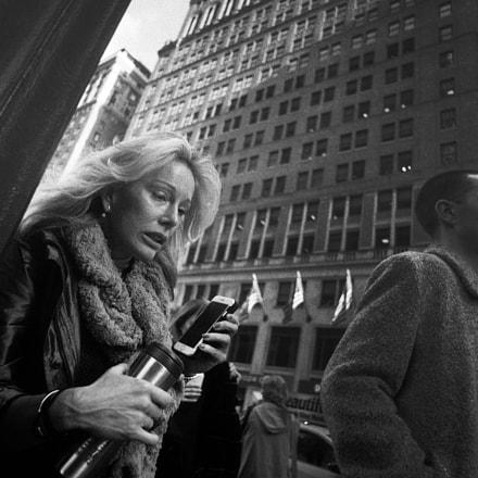 City, Cellphone, Coffee