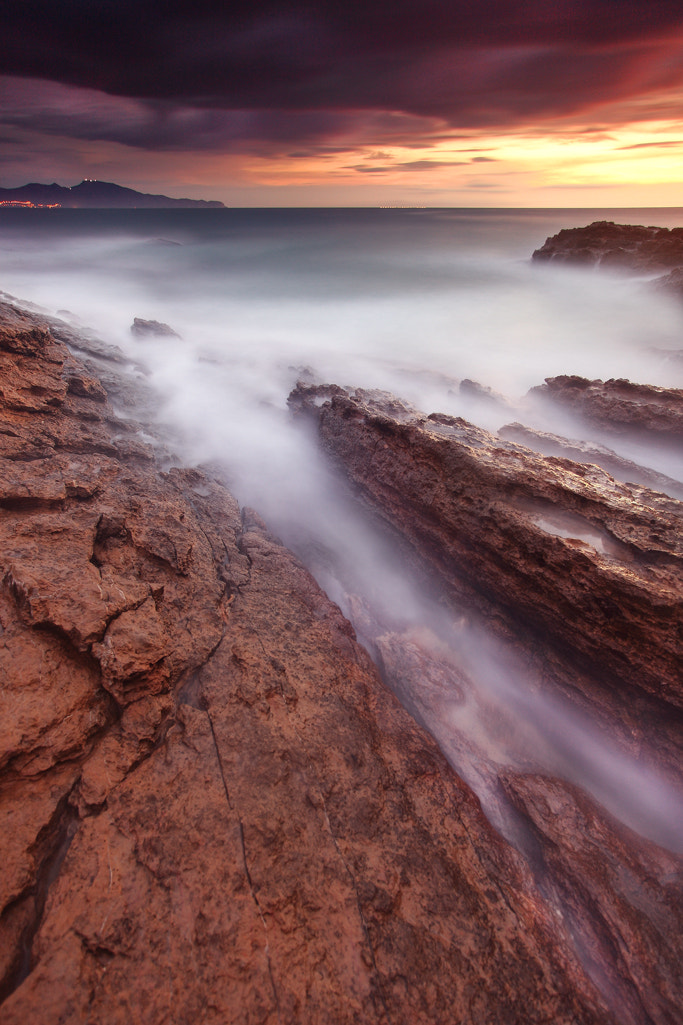 Photograph the force of the sea by toni fernandez on 500px
