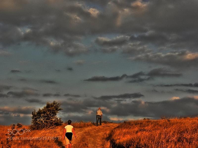 Photograph toward the horizon by Sedat Ozdemir on 500px