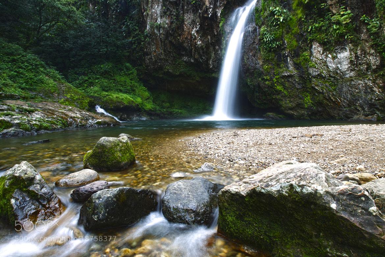 Photograph Waterfall and rocks by Cristobal Garciaferro Rubio on 500px