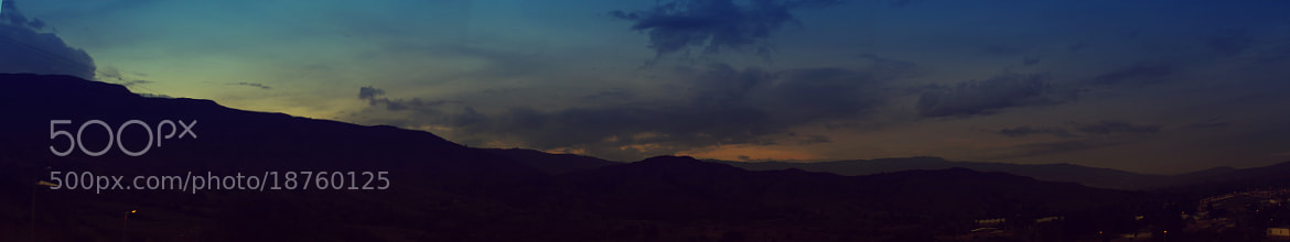 Photograph panoramic hill by Daniel Barrera on 500px