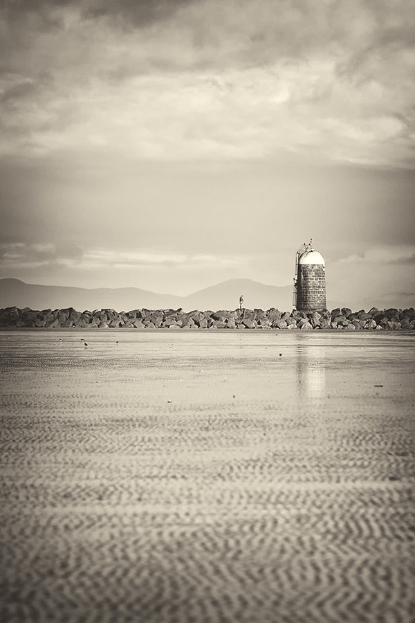 Photograph Alone at Mornington.. by Eimhear Collins on 500px