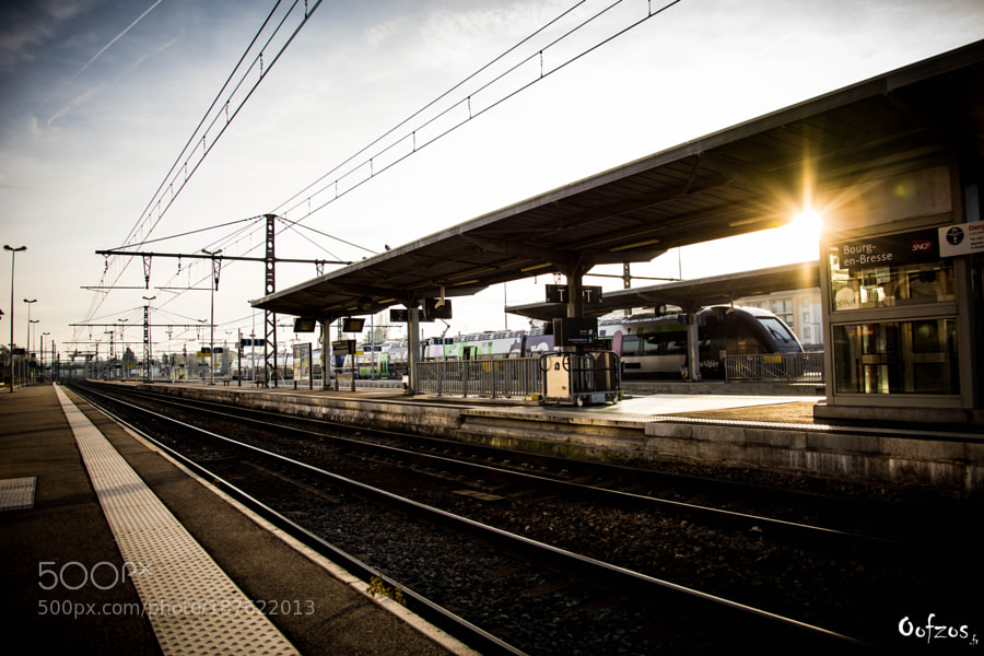 Bourg's station ...