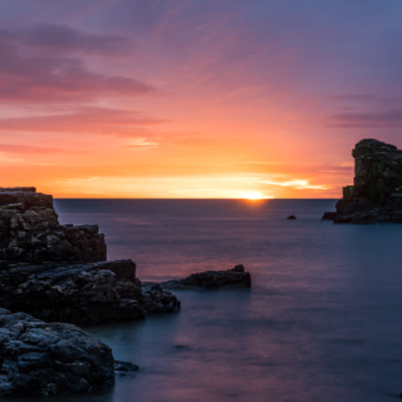 Sunrise in Muchalls