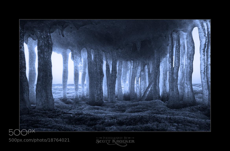 Photograph Ice Prison by Scott Kroeker on 500px