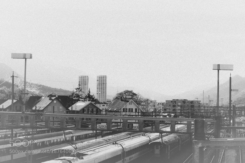 Photograph bhf. Chur by Sven Aeschlimann on 500px