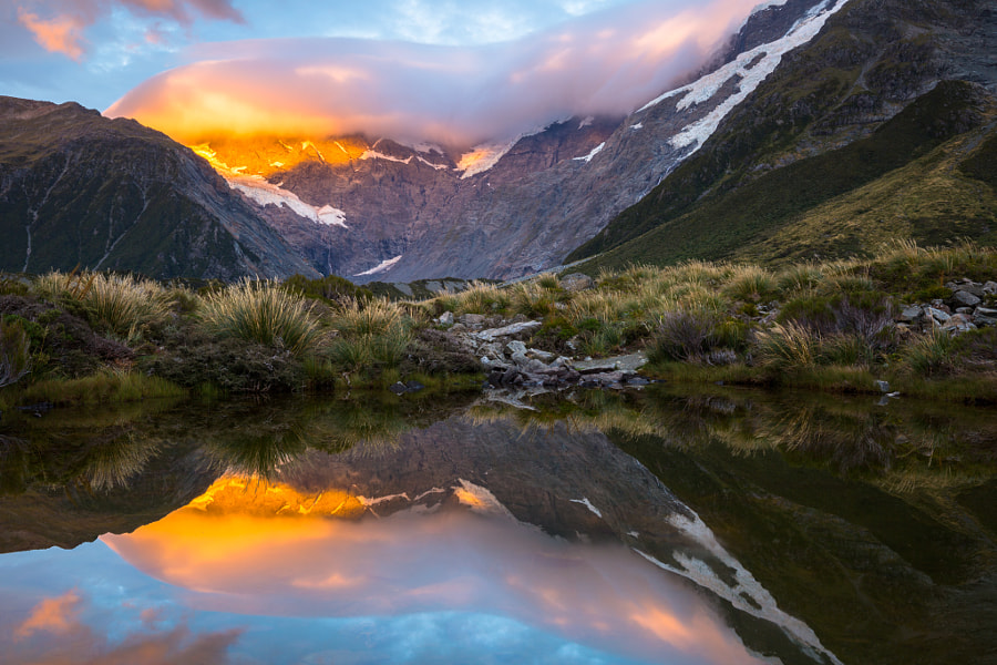 The Hooker Valley. New Zealand by Marco Grassi on 500px.com