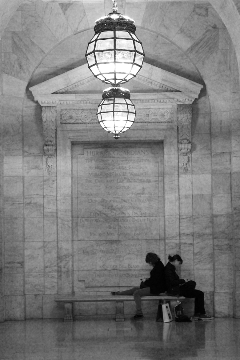 Photograph New York Public Library seating by Petri Olderhvit on 500px