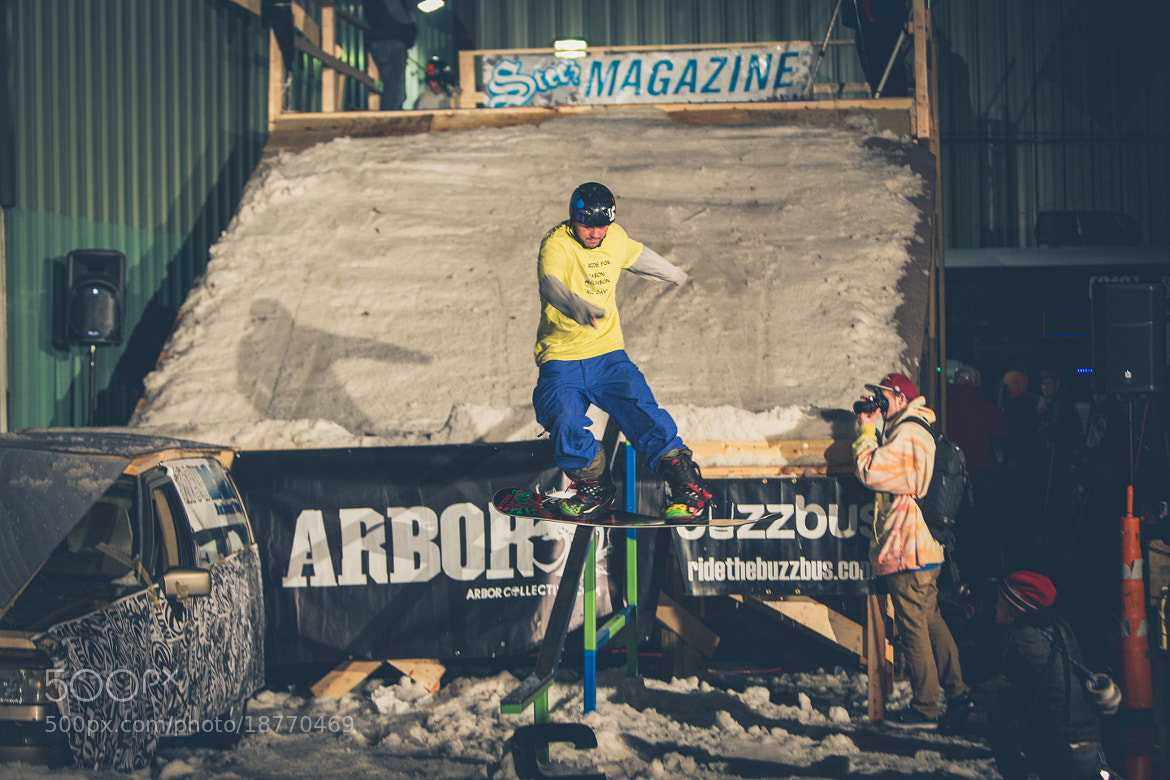 Photograph Snowriders Rail Jam by Marco DelGuidice on 500px