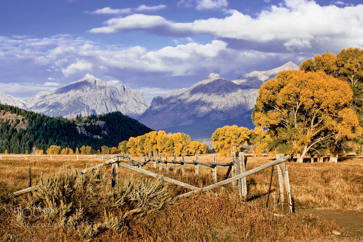 Photograph Teton scene by Jack Booth on 500px