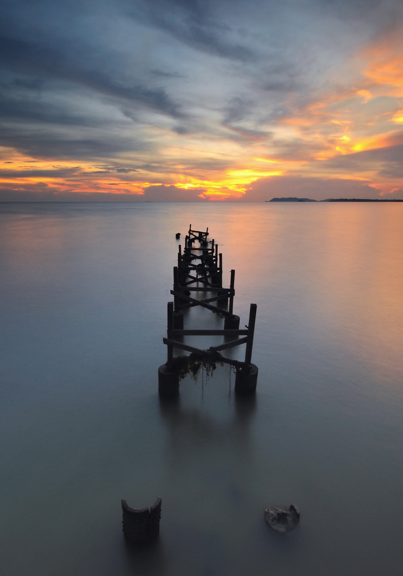 Photograph Sunset of Pasir Panjang, Port Dickson by Yunus Malik on 500px
