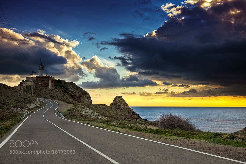 Photograph Faro de cabo de gata by F Levente on 500px