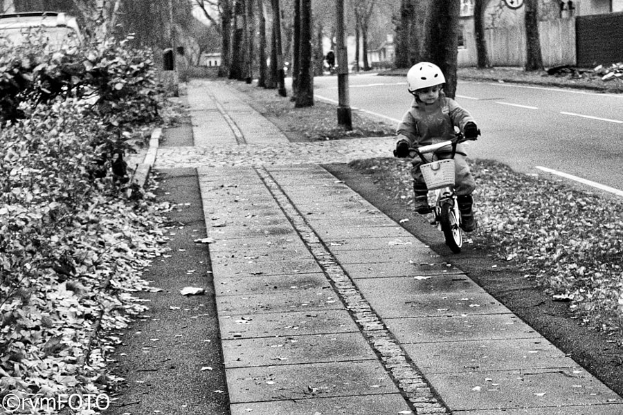 Small cyclist