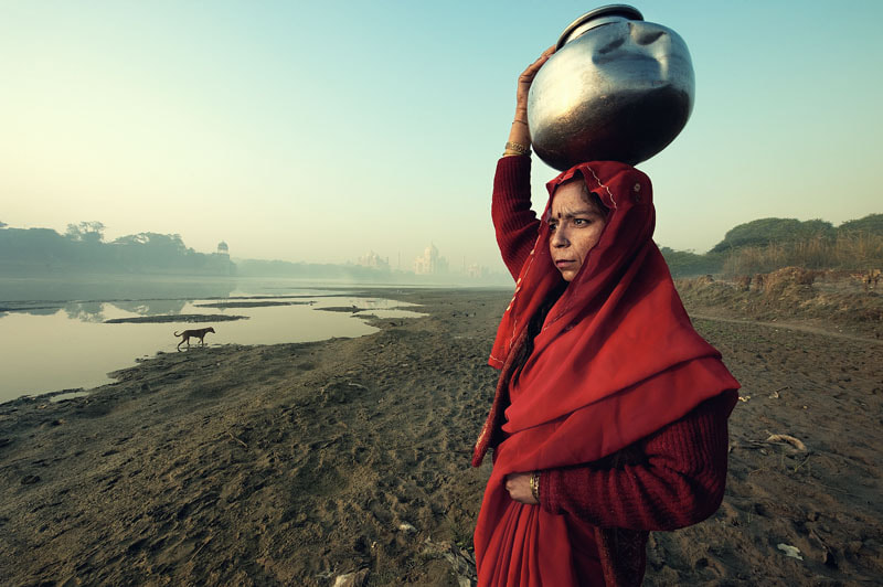 Photograph woman in red by Yaman Ibrahim on 500px