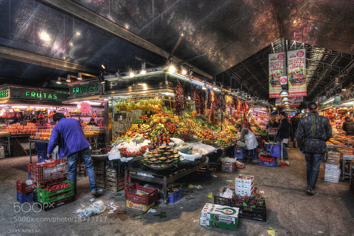 Photograph Mercat de la Boqueria by JUAN  ROMERO on 500px