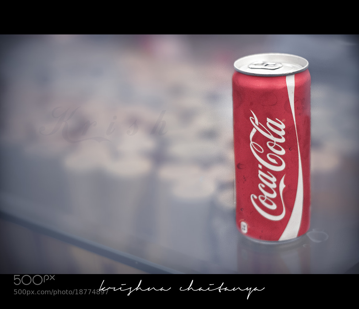 Photograph Coca Cola by Krishna Chaitanya on 500px