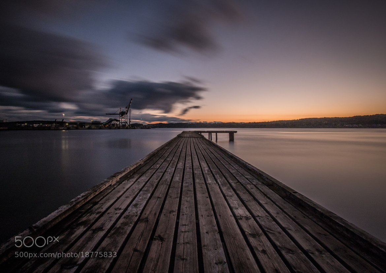 Photograph Larvik pier by Rasmus Hald on 500px