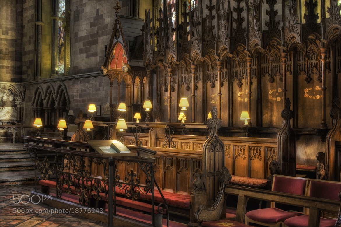 Photograph Choir Seating Area by Ian Mitchell on 500px