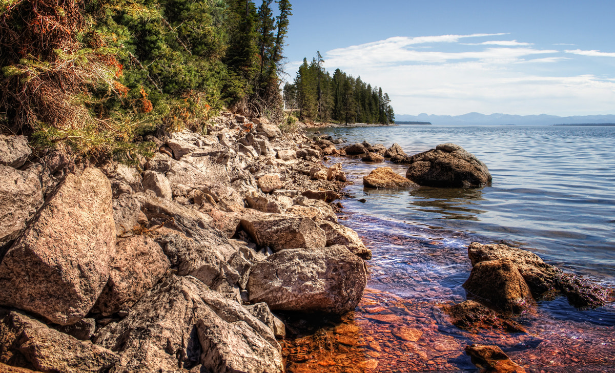 Photograph Yellowstone Lake by Ian McConnell on 500px