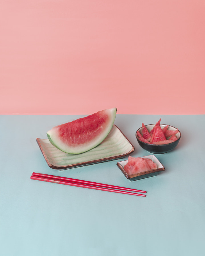 Watermelon three ways by Franz Weber on 500px.com