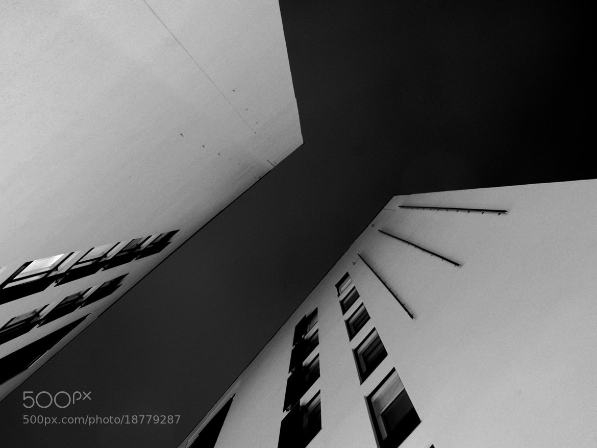 Photograph two buildings by J K on 500px