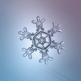 Snowflake by Alexey Kljatov on 500px.com
