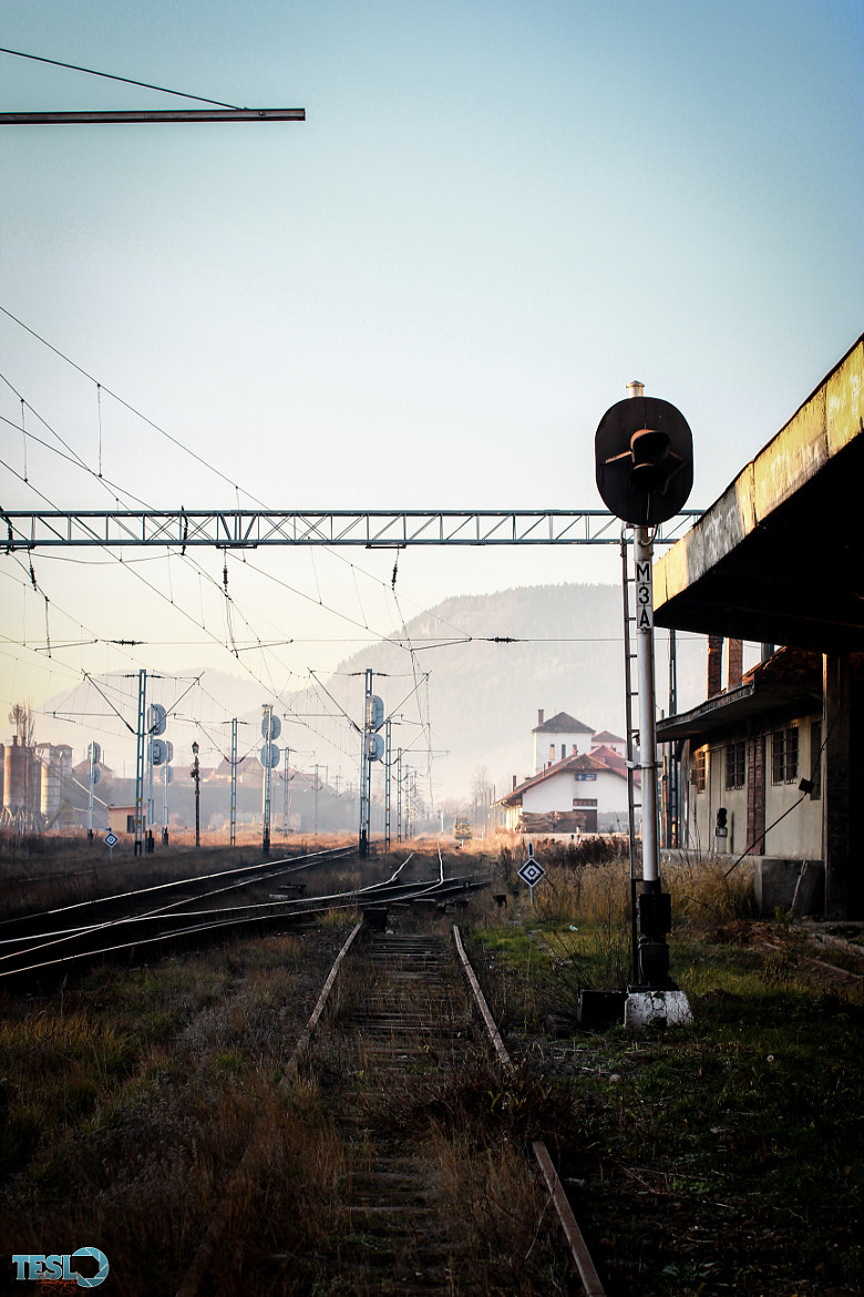 Photograph Train station by Cosmin Teslovan on 500px