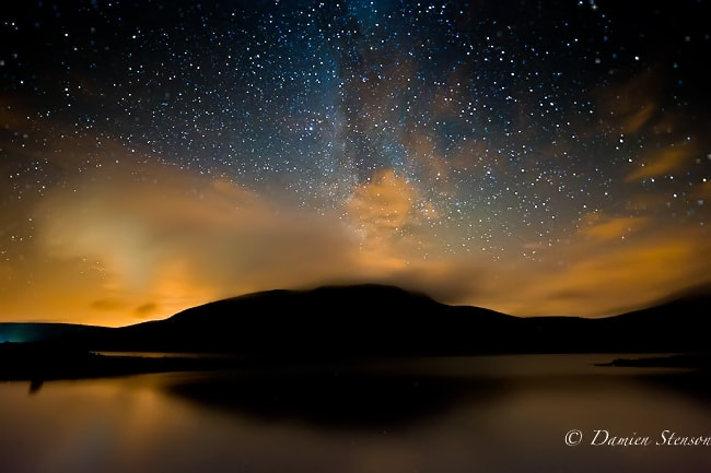 Photograph Lough Talt meets the Milky Way by Damien Stenson on 500px