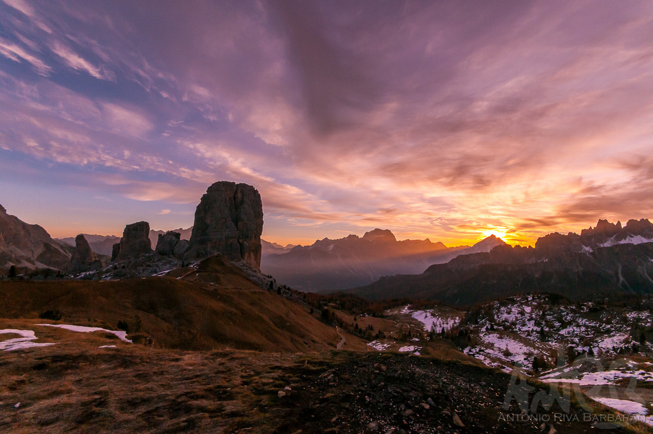 Photograph Sunrise on Cinque Torri by Ant R B on 500px