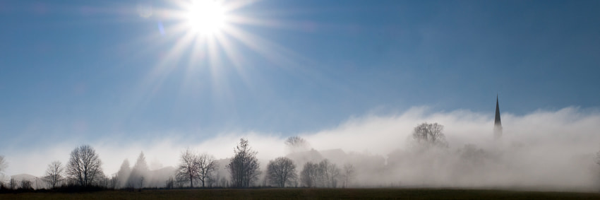 Photograph scraping fog (panorama) by Franz Bogner on 500px