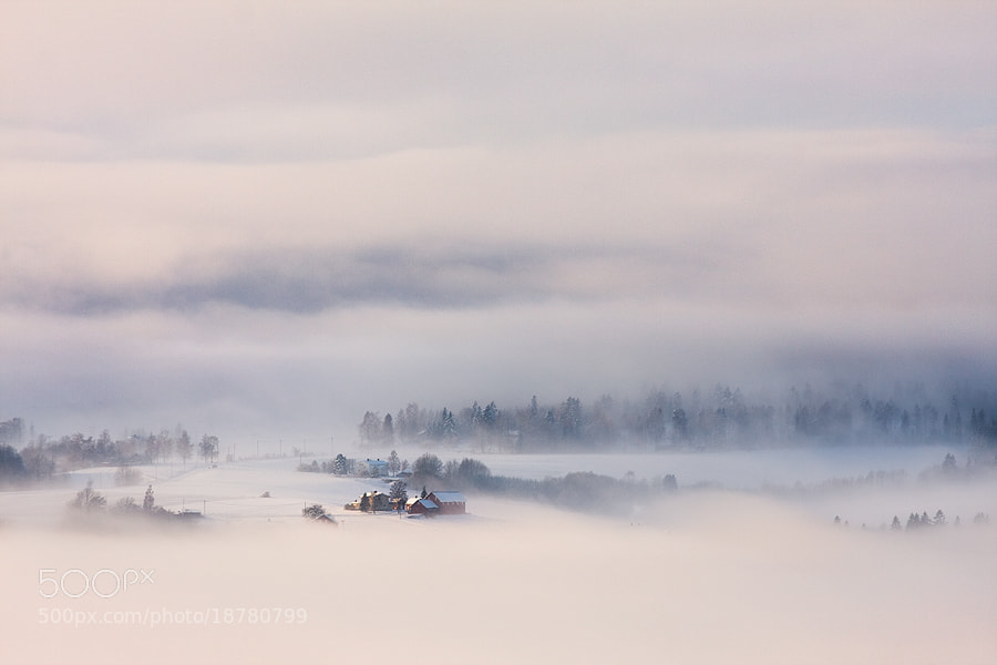 Photograph Misty Valley by Tomasz Stawowy on 500px