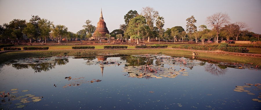 Photograph Peaceful And Serene Water @ Sukhothai by Sean Cheng on 500px
