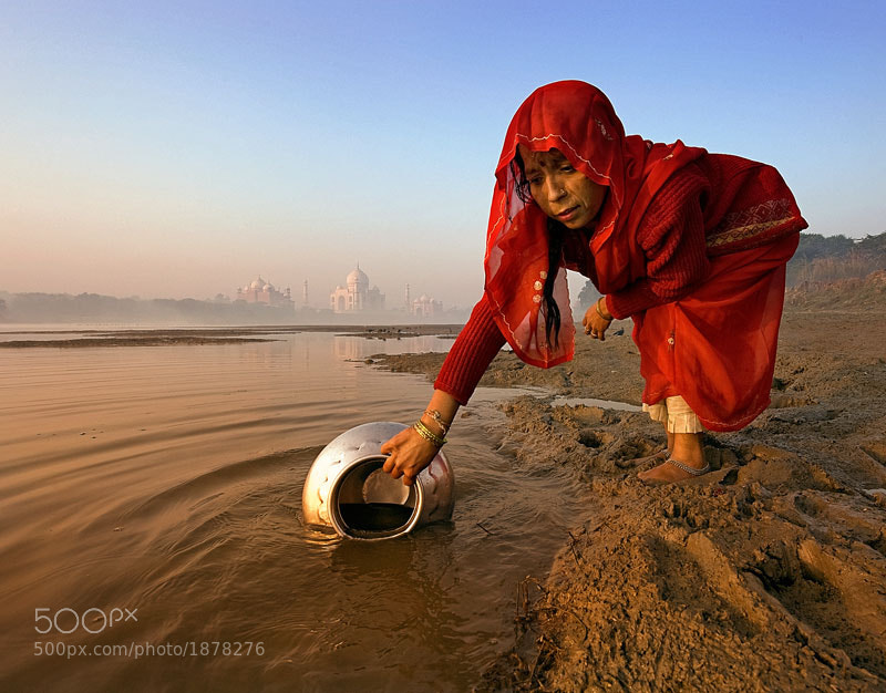 Photograph woman in red #2 by Yaman Ibrahim on 500px
