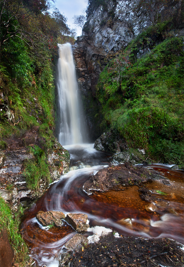 Photograph Glenevin Falls by Stephen Emerson on 500px