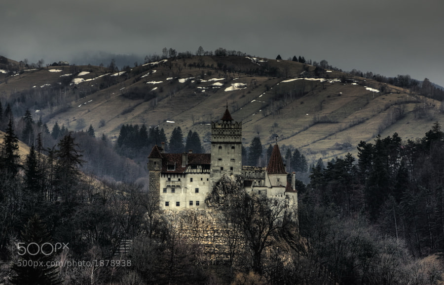 Bran Castle, situated near Bran and in the immediate vicinity of Braşov, is a national monument and landmark in Romania.