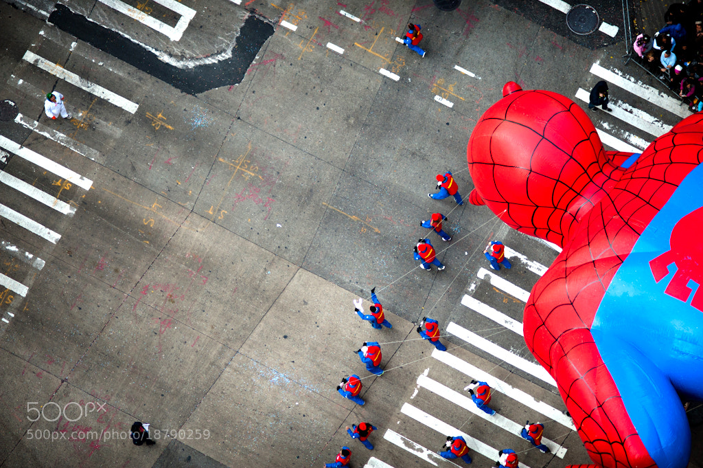 Photograph Intersection | Spiderman by Navid Baraty on 500px