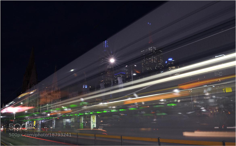 Photograph Melbourne center by aurelien avril on 500px