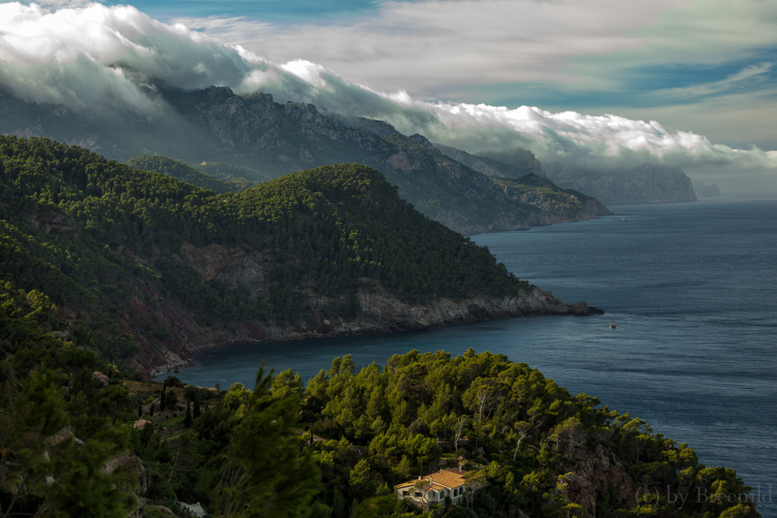 Photograph Clouds on Mallorca West-Coast by Burkhard B on 500px